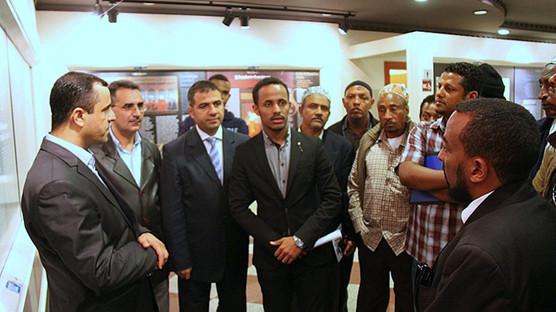 Etiyopya heyetinden ziyaret