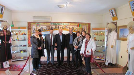 """Bulgaristan """"Plevne 1877""""den Kültür A.Ş. Genel Müdürü Nevzat Kütük'e ziyaret"""
