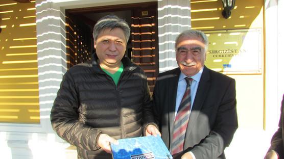 Kırgız Bakandan müzemize ziyaret