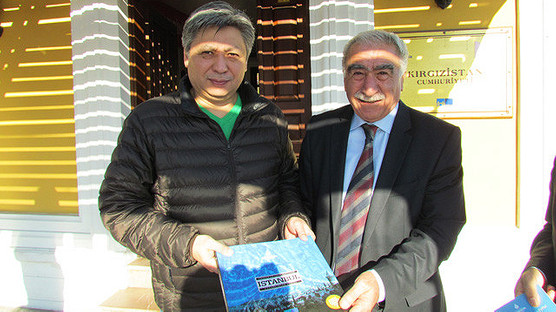 The Kyrgyz Minister Visits Our Museum