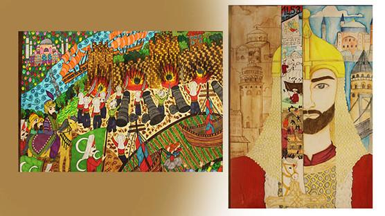 İstanbul'un Fethi Konulu Resim ve Kompozisyon Yarışması sonuçlandı