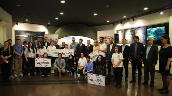İstanbul'un Fethi Konulu Resim ve Kompozisyon Yarışmasının kazananları için ödül töreni düzenlendi